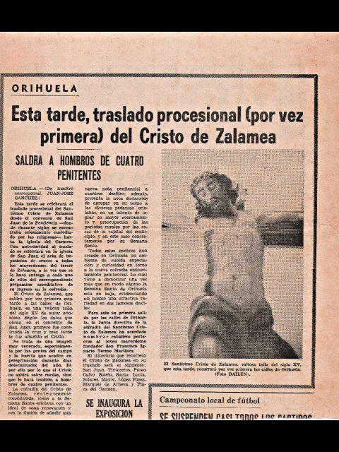 Periódico Cristo de Zalamea